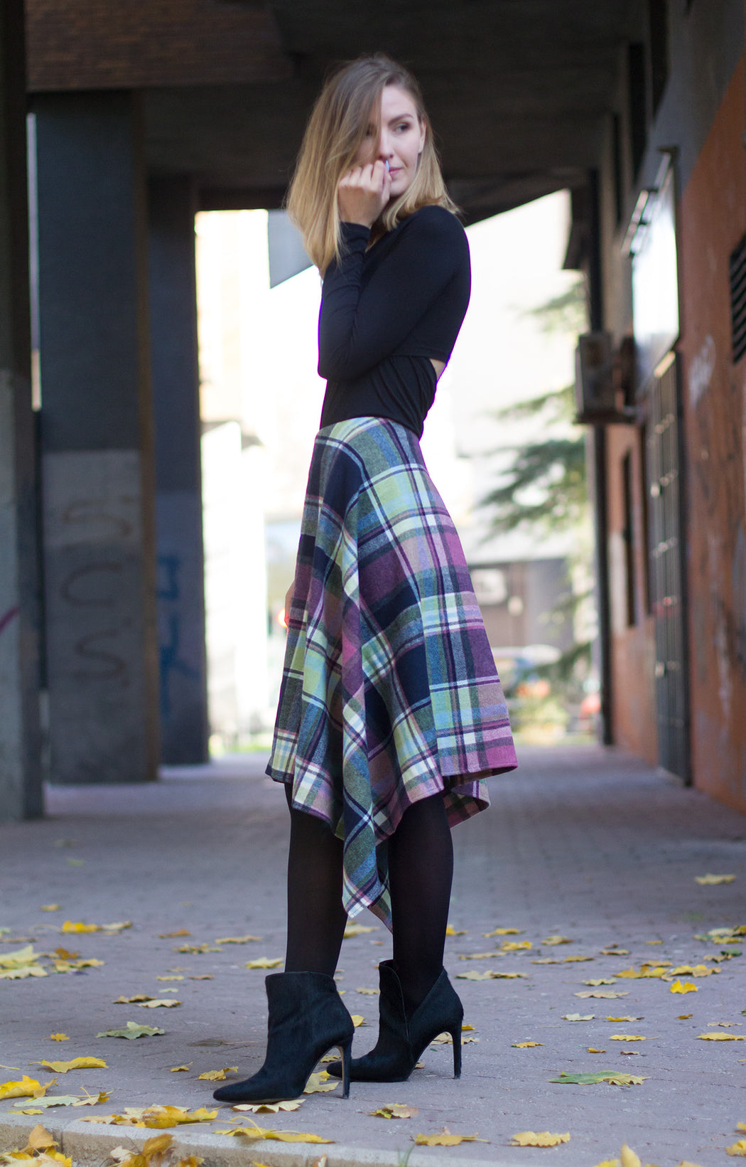 Blanket gypsy skirt - BastetNoir