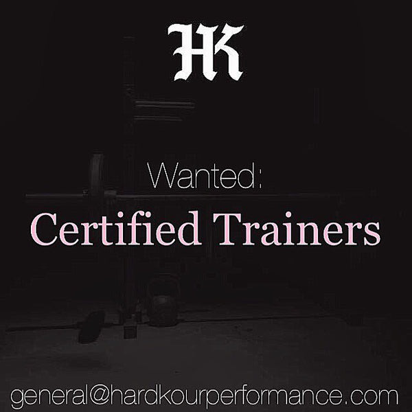 Wanted: Certified Trainers