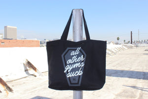 AOGS Canvas Zippered Tote Bag