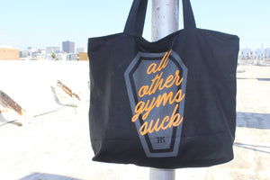 AOGS Canvas Zippered Tote Bag - HARDKOUR PERFORMANCE
