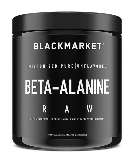 BLACKMARKET - RAW Beta Alanine - HARDKOUR PERFORMANCE