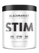 BLACKMARKET - STIM: Pre-Workout - HARDKOUR PERFORMANCE