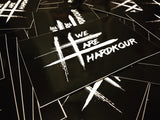 #WEAREHARDKOUR Stickers