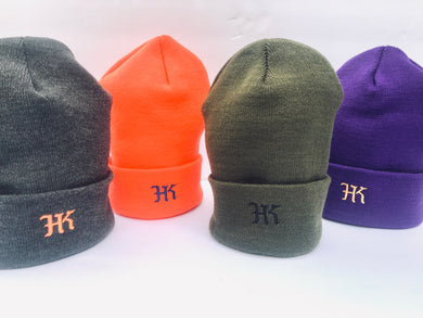 HK Embroidered Cuff Beanie - HARDKOUR PERFORMANCE