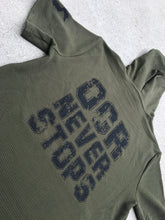 OCR NEVER STOPS Textured Knit Hoodie - HARDKOUR PERFORMANCE
