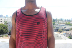 We Are Hardkour Stripe Tank