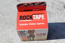 "RockTape 2"" H20 Black Logo - Extra Sticky - HARDKOUR PERFORMANCE"