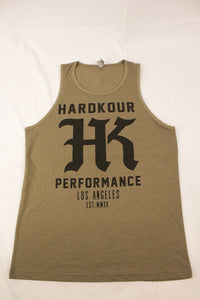 HK Military Green Tank - HARDKOUR PERFORMANCE