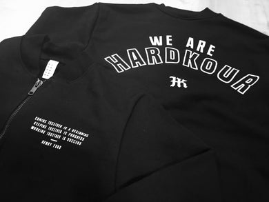 We Are Hardkour Half-Zip Crewneck - HARDKOUR PERFORMANCE