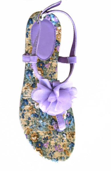 Wild Lilac Sandals