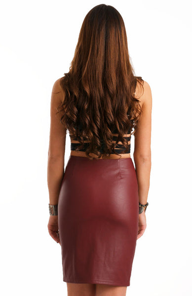 Vampire Leather Skirt