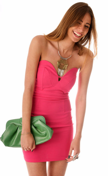 Jessica Infinity Dress - Fuchsia