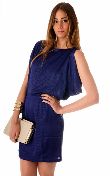 Hypnotic Dress - Royal Blue