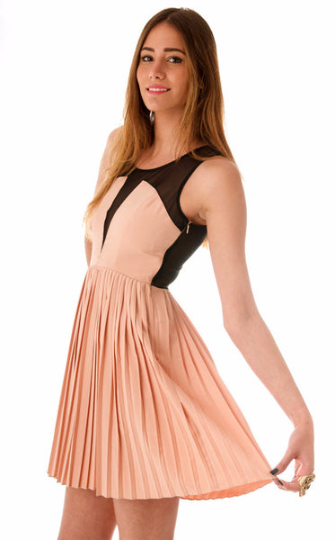 Guilty Pleats Dress