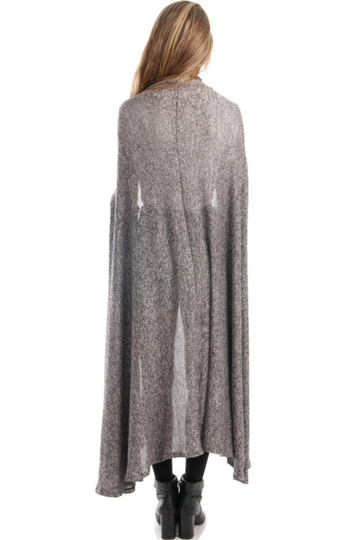 On The Floor Maxi Grey Cardigan