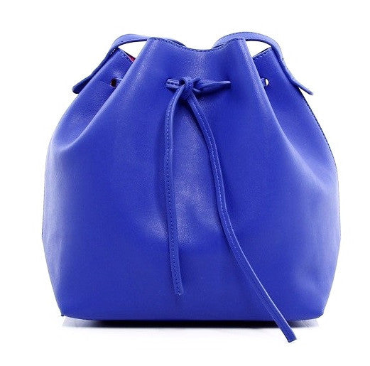 Olivia Bucket Bag - Cobalt
