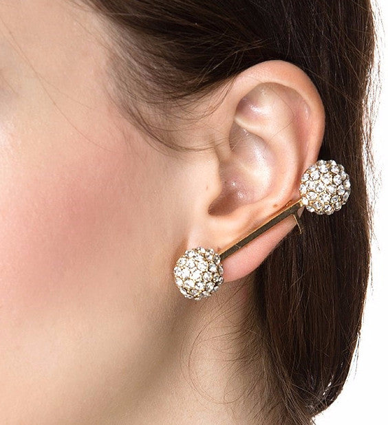 Dome Stick Earrings