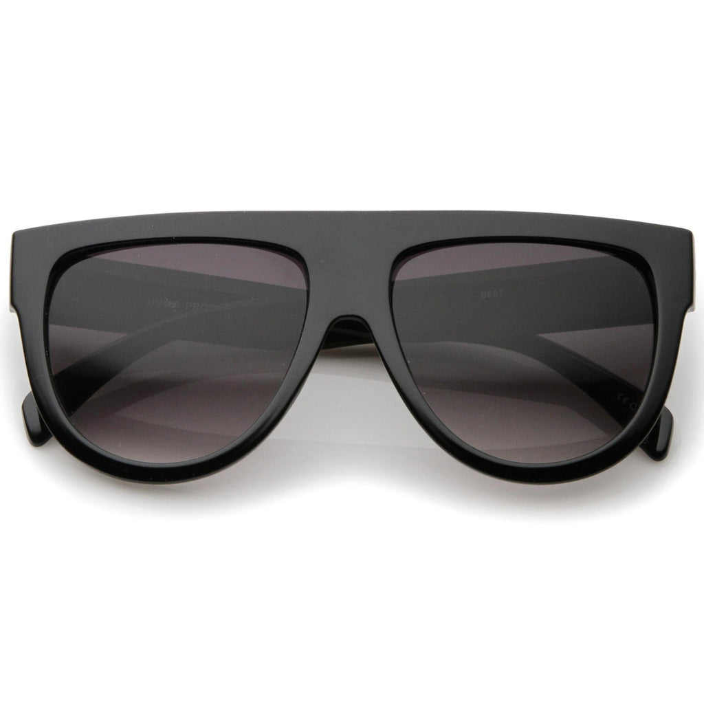 Sandra Oversized FlatTop Sunglasses - 3 colors