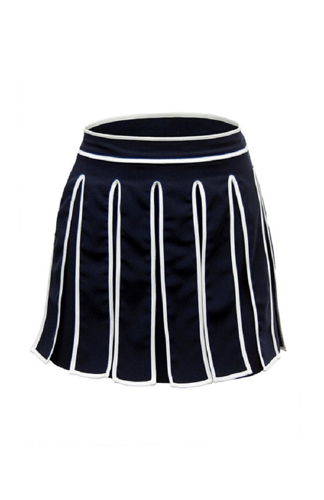 Modern Gladiator Navy Skirt
