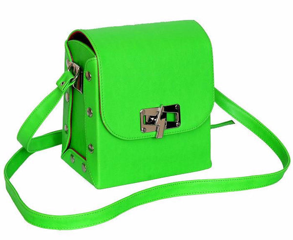 Green Flashy Bag