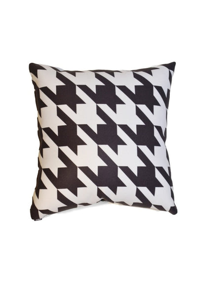 Houndstooth- Black