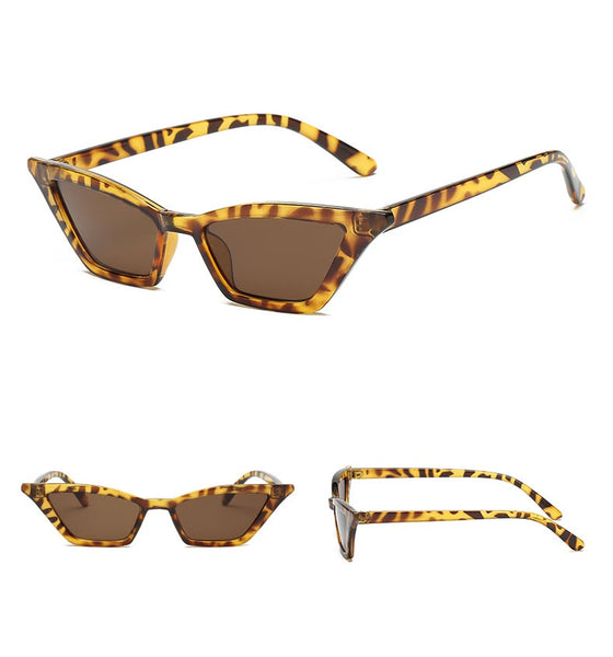 Veronica Pointy Skinny Sunnies - 3 colors