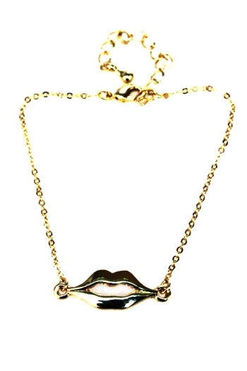 Enchanting Lips Bracelet