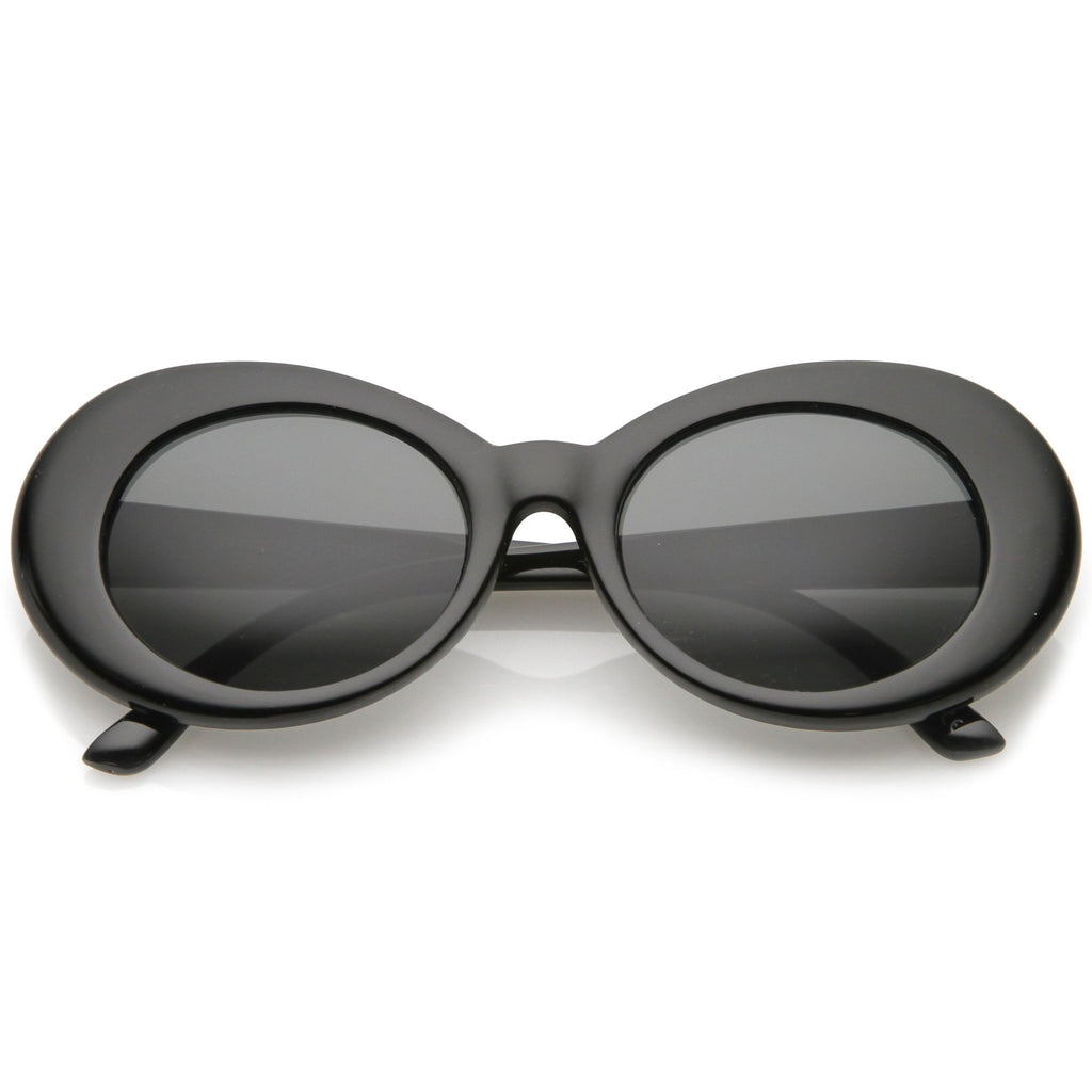 Bianca Retro Oval Sunglasses - 2 colors
