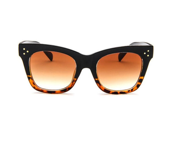 Olivia Oversized Rectangle Sunnies - 2 colors