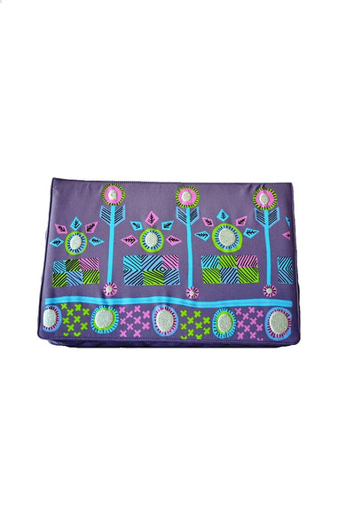 Lavender Retro Clutch