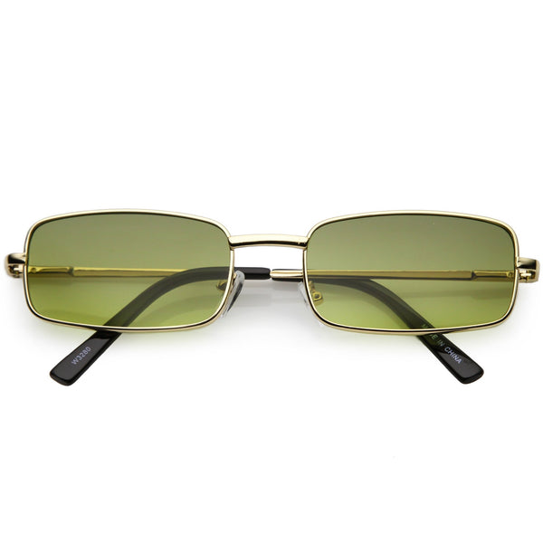Riri Rectangle Slim Sunnies - 3 Colors