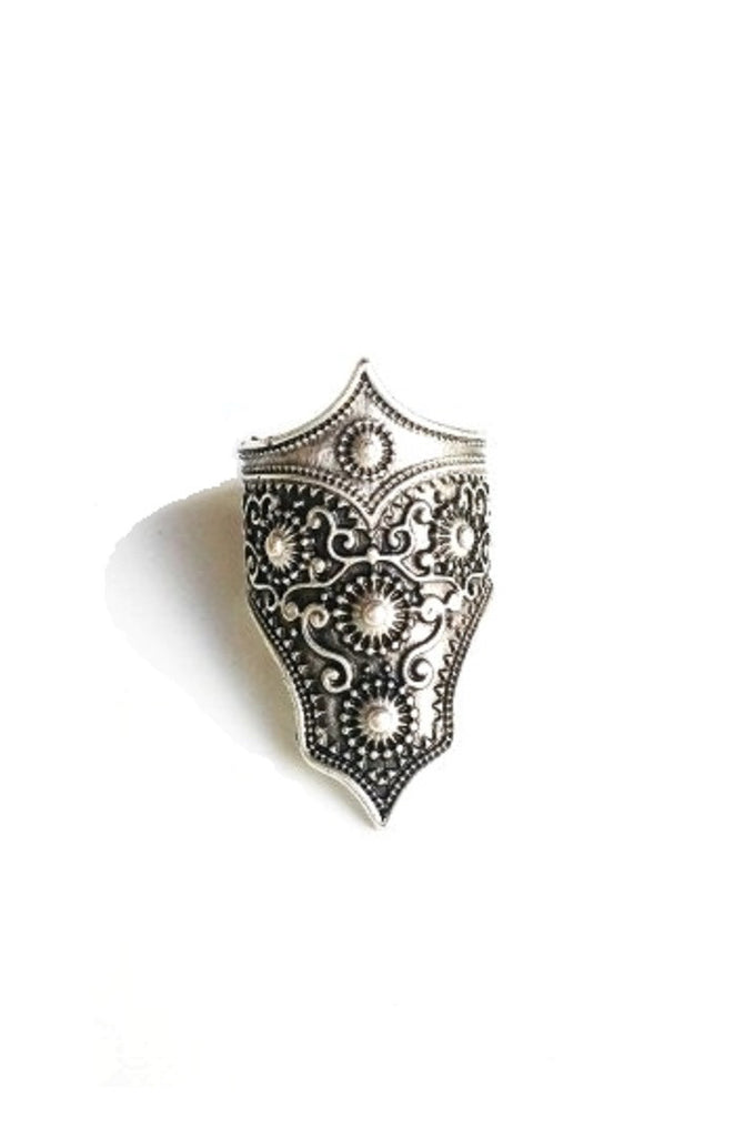 Silver Armor Ring