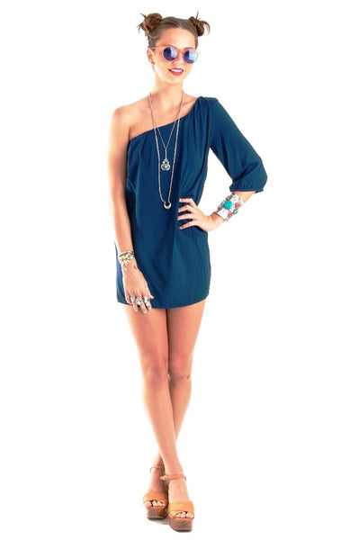 Sugar Kiss Dress- Navy Blue