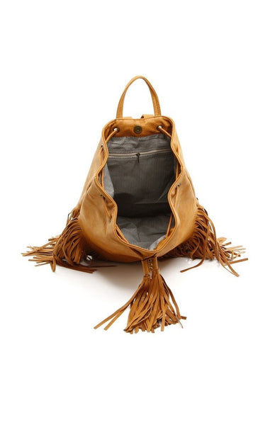 Sara Vegan Backpack - Tan