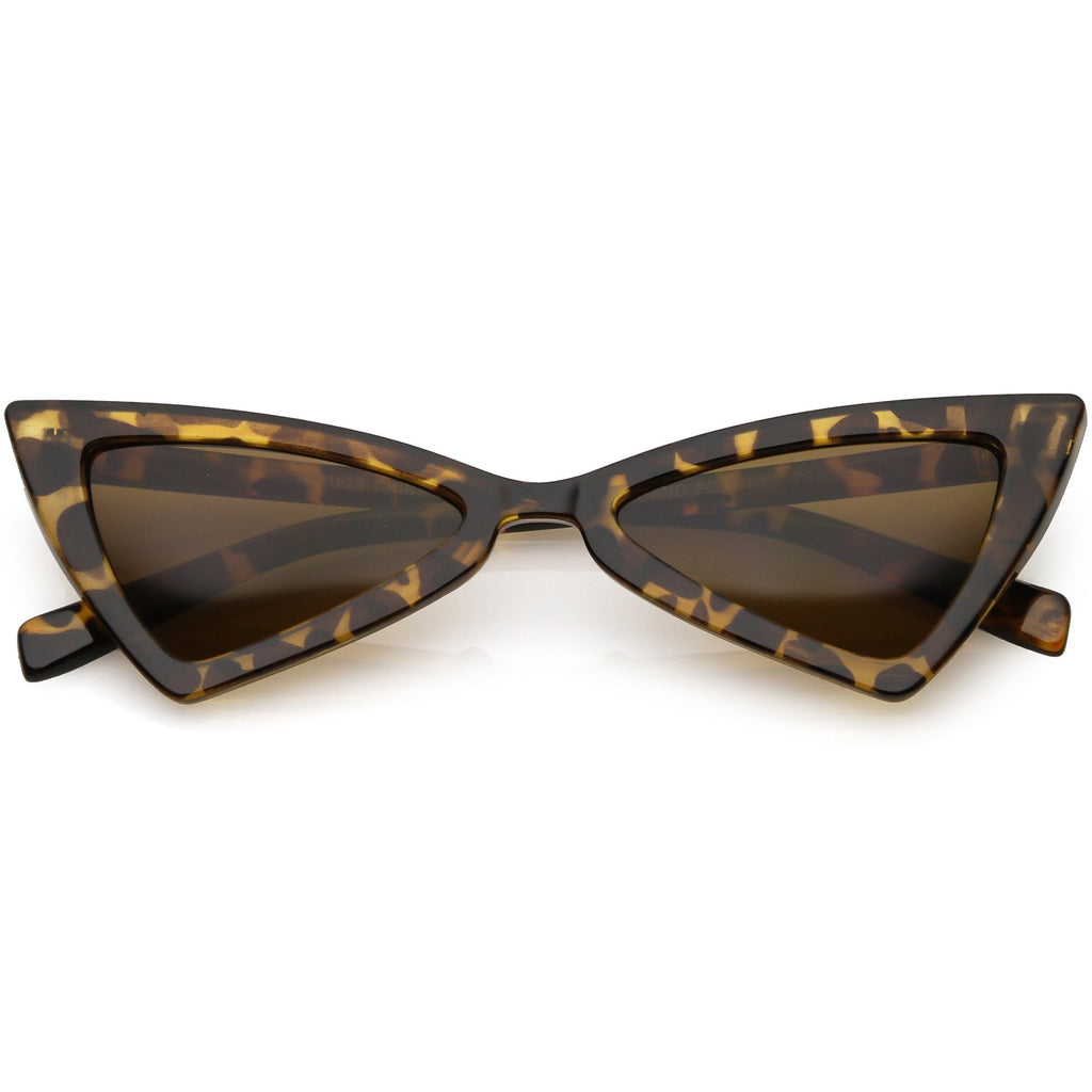 Tina Triangle Cateye Sunglasses - 3 colors