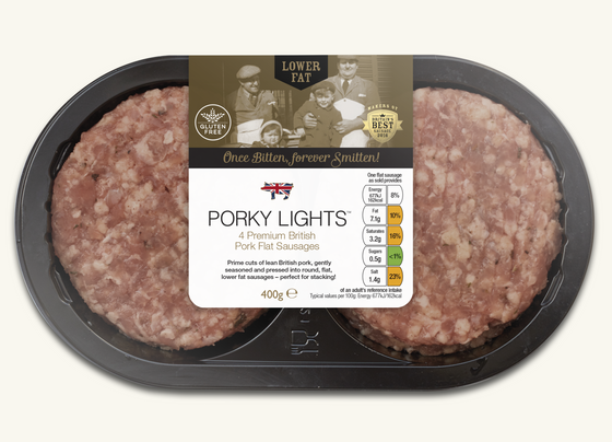 Porky Lights Flats (multipack of 5)
