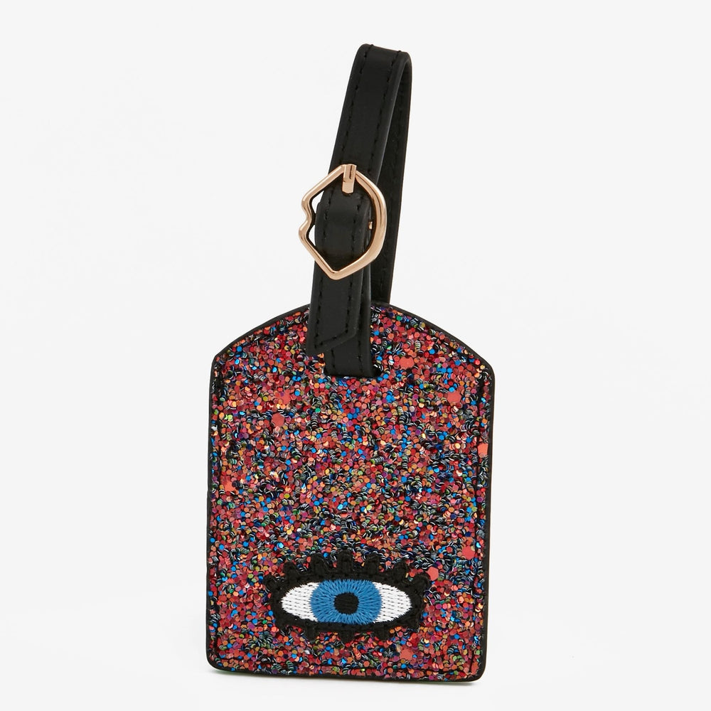 MAROQUINERIE - Luggage Tag Shimmer Eyes