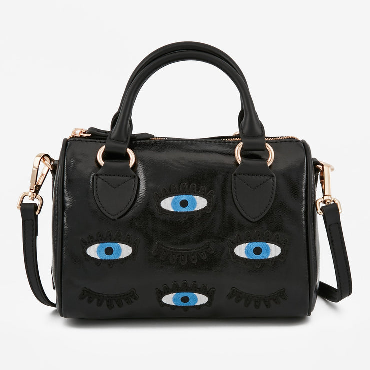 MAROQUINERIE - Mini Satchel Noir Eye See You
