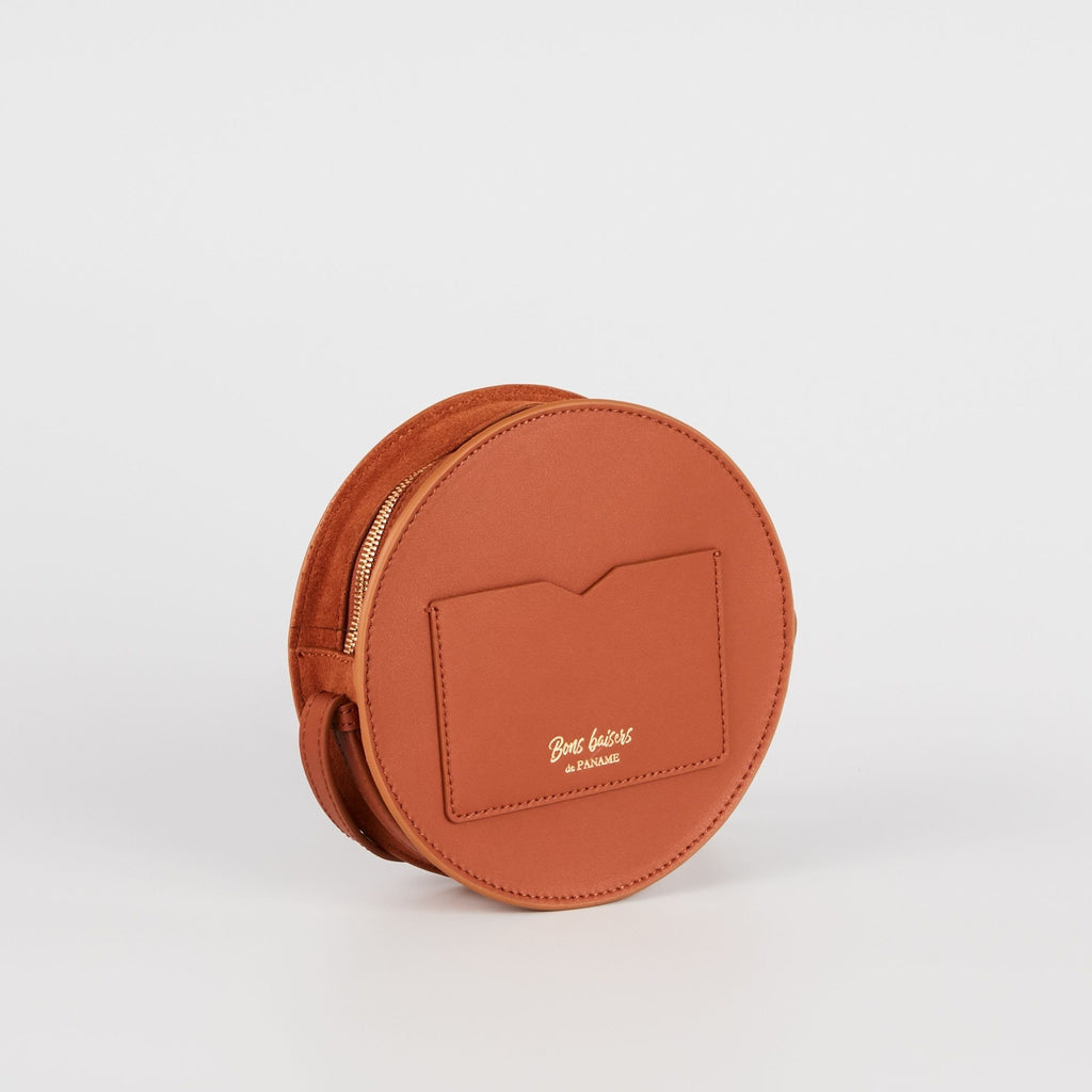 MAROQUINERIE - Sac Rond French Kiss Camel
