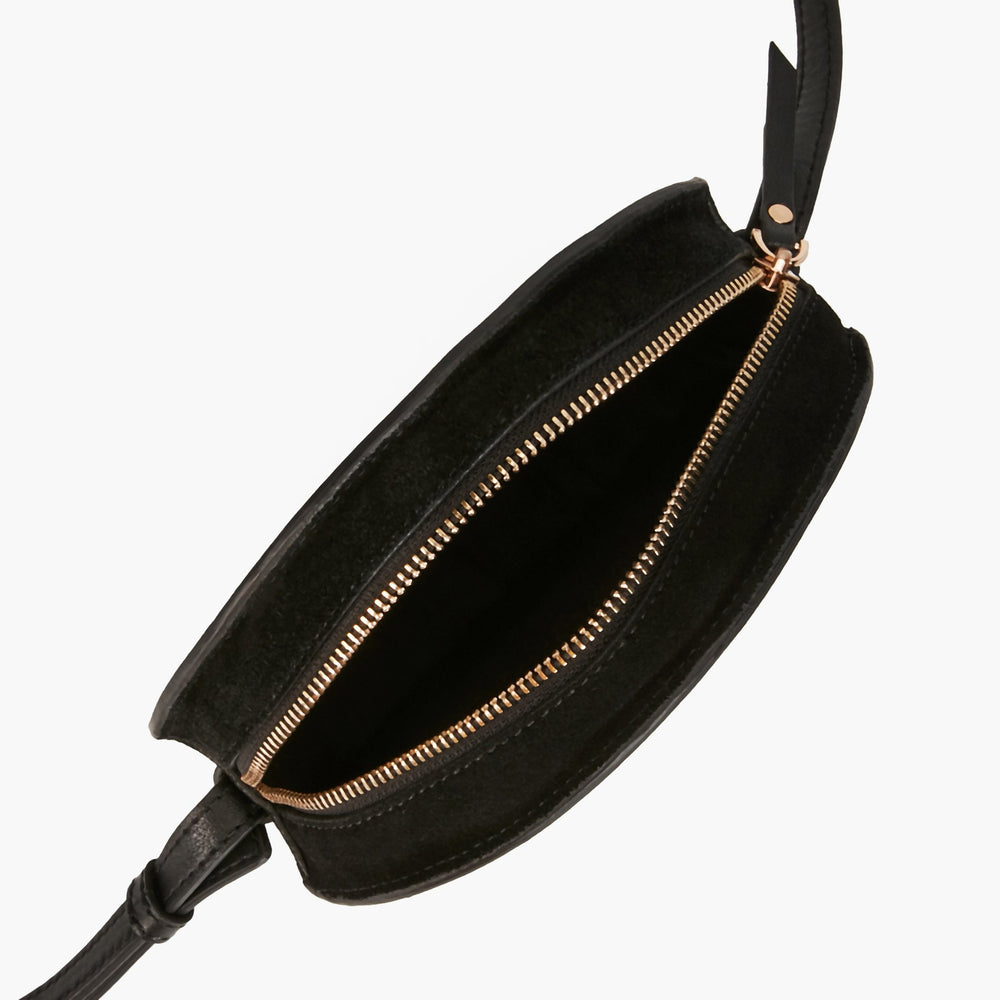 MAROQUINERIE - Sac Rond French Kiss Noir