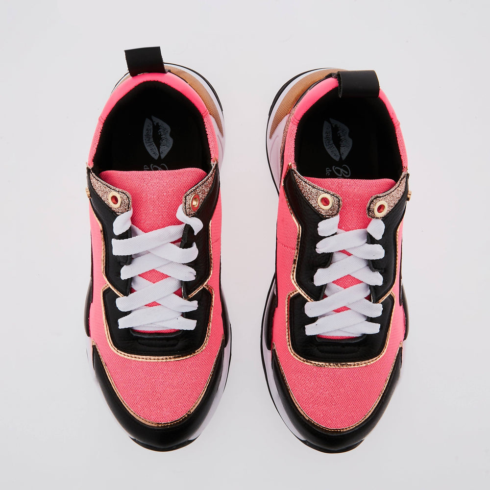 SNEAKERS CLAUDIE - Sneakers Claudie Fluo Pink