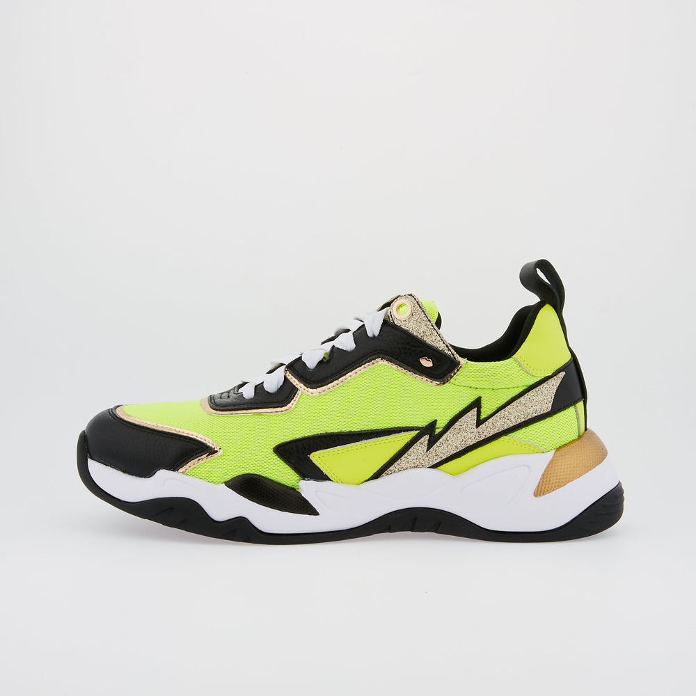 SNEAKERS CLAUDIE - Sneakers Claudie Fluo Yellow