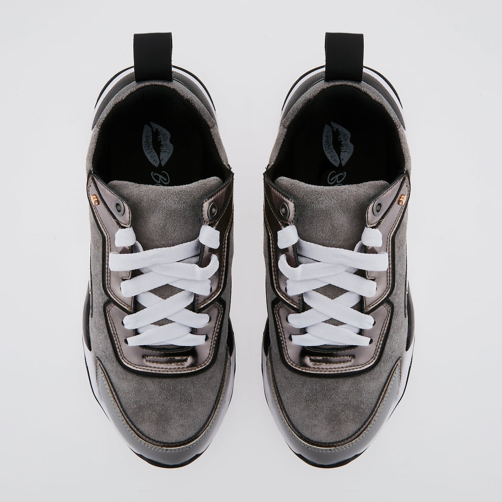 SNEAKERS CLAUDIE - Sneakers Claudie Gris