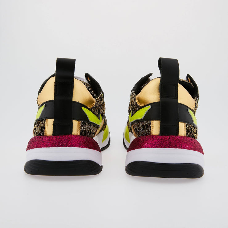 SNEAKERS CLAUDIE - Sneakers Claudie Léopard Gold