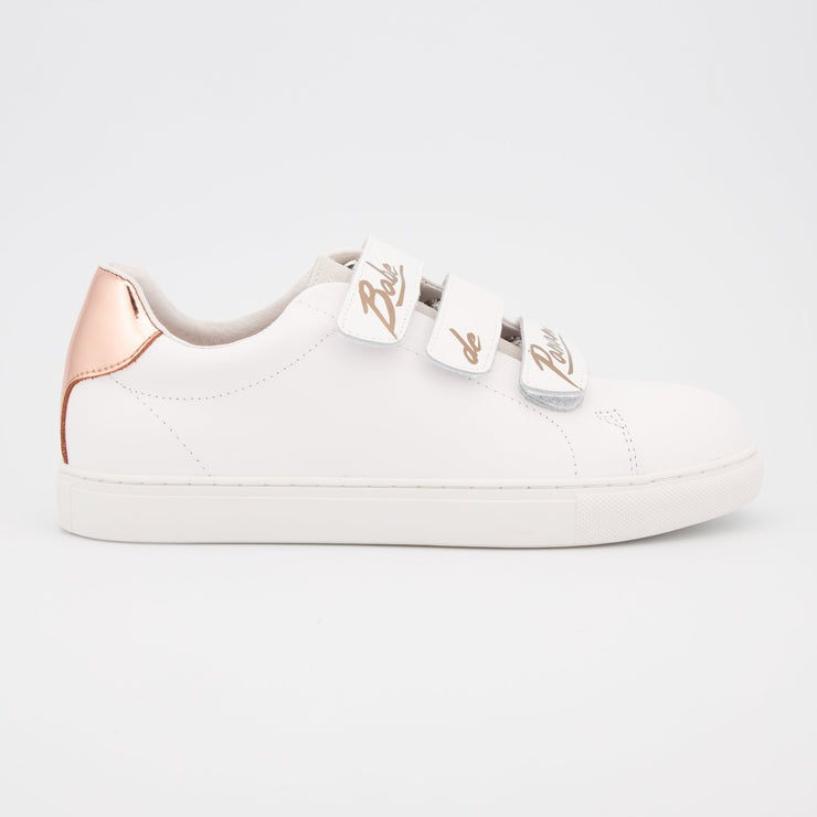 SNEAKERS EDITH - Edith Babe De Paname-Blanc Rose Gold