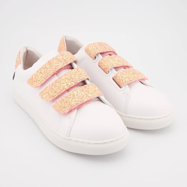 SNEAKERS EDITH - Edith Glitter-Corail