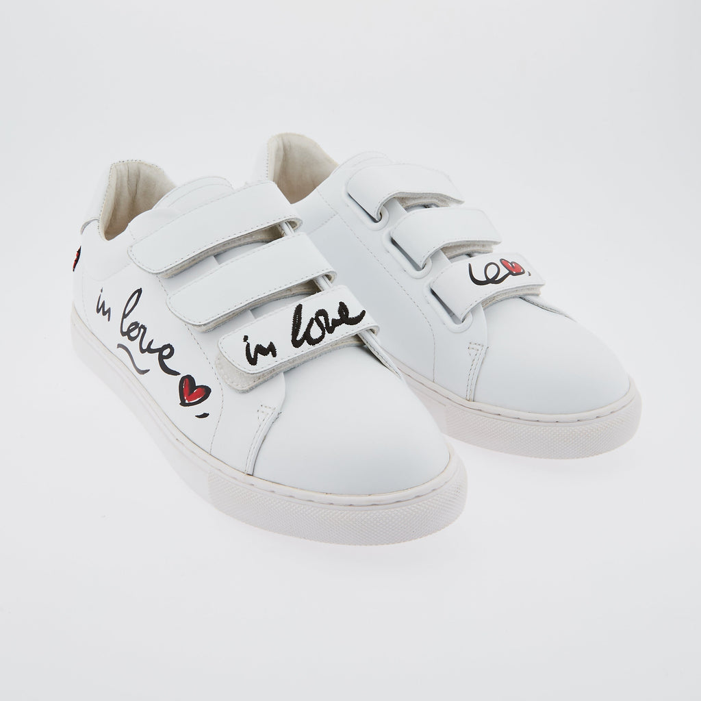 SNEAKERS EDITH - PRECOMMANDE Sneakers Edith In Love Graf