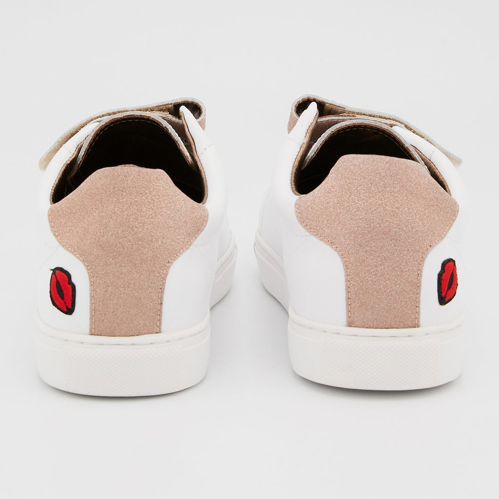 SNEAKERS EDITH - Sneakers Edith Blanc/Gold