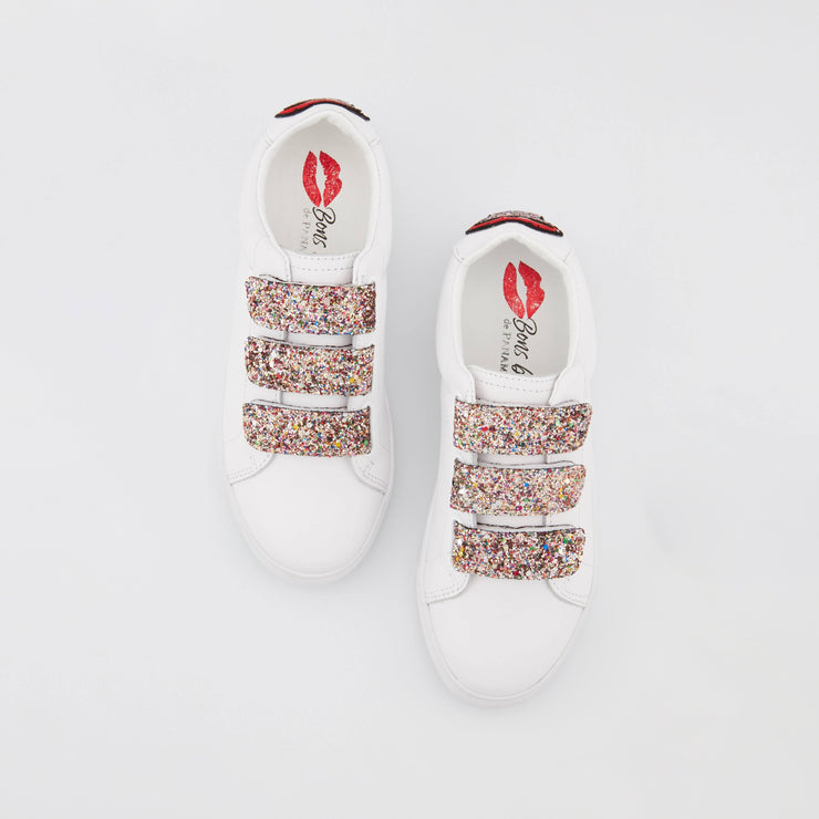 SNEAKERS EDITH - Sneakers Edith Glitter Tongue