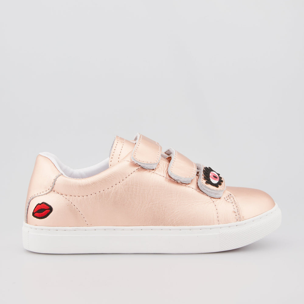 SNEAKERS EDITH - Sneakers Edith Heart Eyes Rose Gold